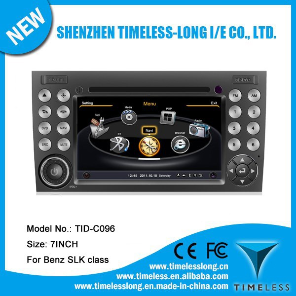 S100 Car DVD For Mercedes Benz SLK 171 2003-2011 with GPS A8 Chipset 3 zone POP 3G/wifi BT 20 dics playing