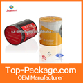 Round hollow transparent pvc tube with cap plastic tube