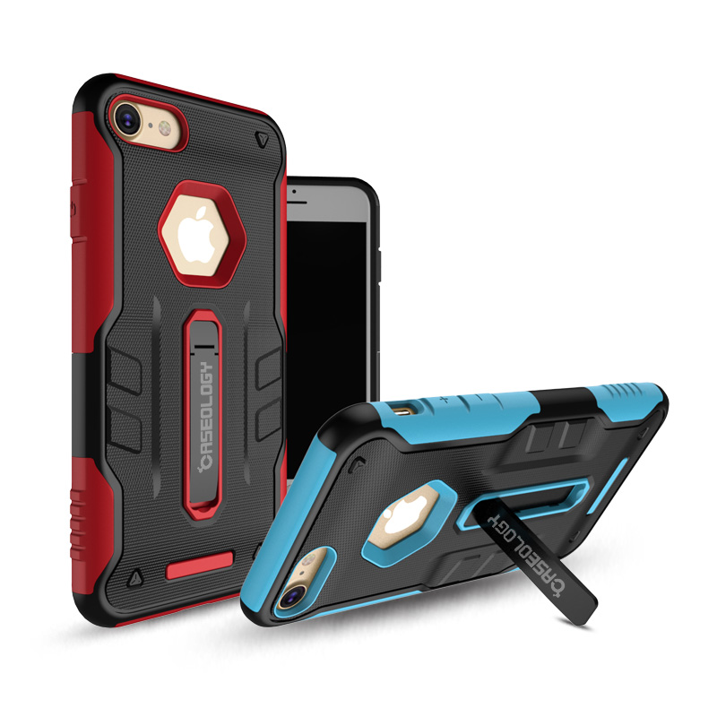 SUD New Design TPU+PC Hybrid Hard Defender Armor Cover <strong>Case</strong> With Kickstand For iphone 5 5s 6 6s Plus 7 7 plus
