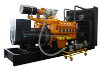 60Hz 1000 kva generator price with Googol Gas Engine