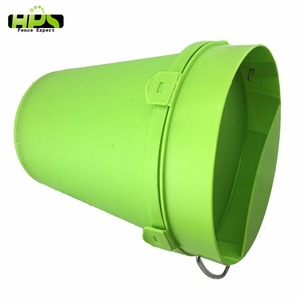 auto automatic durable green pe plastic poultry animal water farm fencing chicken drinkers bucket for sale