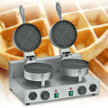 Commercial Stainless Steel Electric Double Head Waffle Maker Machine UWB-2