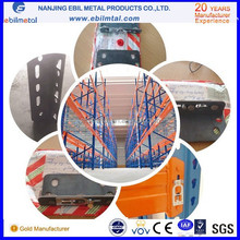 FEM standard roll formed steel selective US style teardrop pallet rack in China