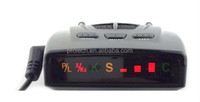 Anti Radar/Laser Detector with Super-Bright Bands I conDisplay