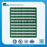 copper Rigid Green FR-4 design 6-layer Monitor pcb manufacture