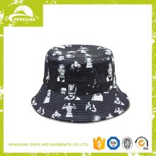 Plastic High quality women's navy bucket hat with tassels