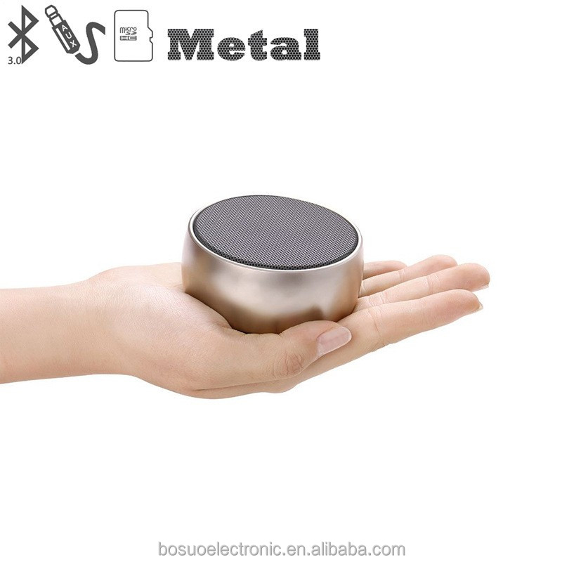 Super Bass metal B10 Wireless Portable tf card music mini bluetooth speaker