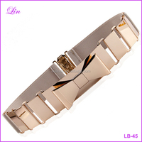 Popular Women's Belt Cut Out Gold Metal Belt For Women Strap belt