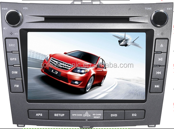 8 inch oem auto car dvd player with gps radio pip BYD-L3 2015