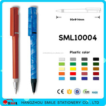 Retractable Ballpoint Pens simply plastic ball pen with custom logo