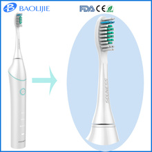 Adult Electric Toothbrush With Brush Head Holder And With IPX7 Waterproof Food Grade PP Material