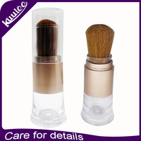 KUULEE Face Use and Mineral Ingredient cosmetic powder brush with lid