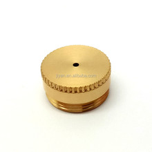 OEM high precision CNC milling machining cover with brass precision parts