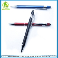 Promotional cheap parker metal touch pen for touch screen