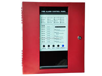 8 Zone Conventional Fire Alarm Control Panel 200 points, each zone 25 points