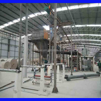 gypsum plank facotry devices with installation