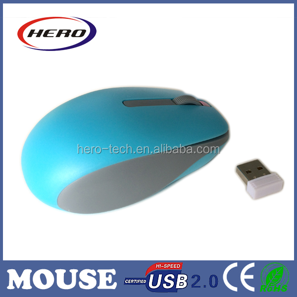 Fashional wireless mouse rf2.4g for laptop and pc
