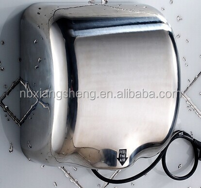High Speed Automatic sensor Wall-mounted Hand Dryer with white colour