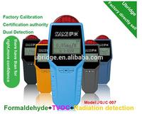 air quality monitor digital portable toxic gas formaldehyde sensor device