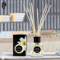 Rose aromatherapy hotel air freshener / home reed diffuser