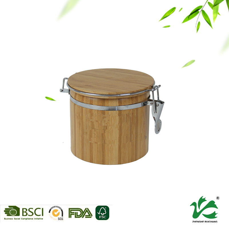 China bamboo factory high quality bamboo tea box tea canister
