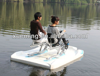 Pedal boat for rental / water bike for 2 people