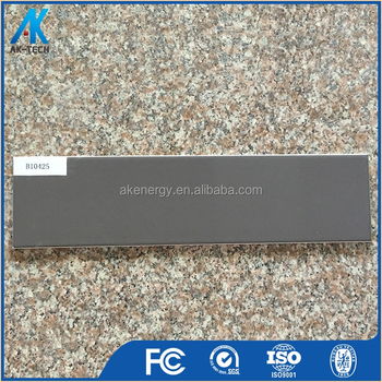 100x400mm Small Grey Polish Decoration China Ceramic Wall Tile