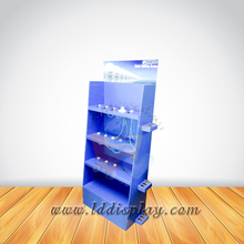 pocket counter led cardboard wholesale paper lcd advertising display shelf with lcd