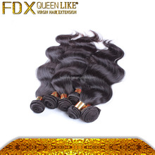 100% unprocessed hair extension with factory price cheap malysian 5a virgin hair natural wave