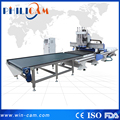 Nesting cnc router with auto loading system