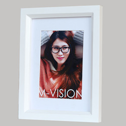 Cheap picture frame with bevelled mirror edge of high quality/Lighted picture frame