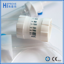 Disposable IV infusion set with precision flow regulator