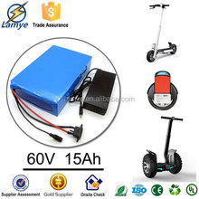 Removable OEM 3.7V Samsung Cell portable 110v battery pack portable 60V battery pack with Charger BMS