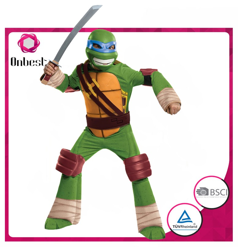Japanese ninja turtles costume for party cosplay carnival warrior costume Kawasaki ninja