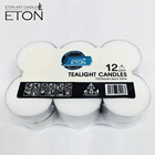 50g religious activites paraffin wax tealight with aluminum cup 12pcs/pk