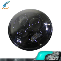 "2016 Newest high power led head light 7"" headlights jeep"