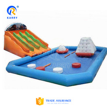 Factory price for amusement aqua water park, mobile amusement park with high quality for sale