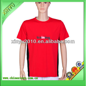 Custom design canton fair dry fit printed t shirt factory