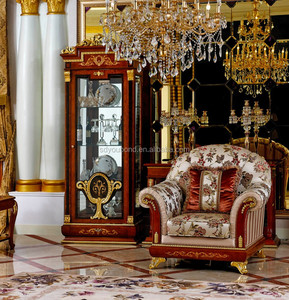 0038 Saudi Arabia antique living room arabic sofa set majlis furniture