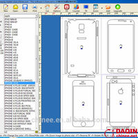 daqin DIY custom skin cell phone design software for any mobile templates
