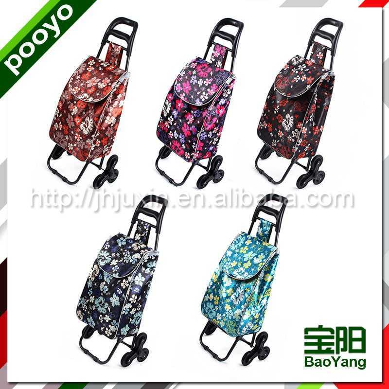 mini folding luggage cart japanese shopping cart widely used