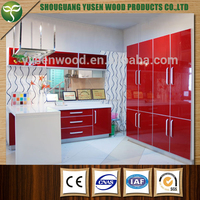 high gloss top quality Kitchen cabinet with modern designs