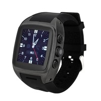 Wearable Android Watch Phone With Wifi GPS Heart Rate Monitor And Pedometer Function