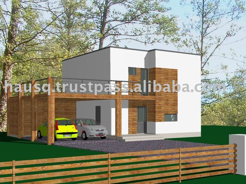 Loona 4PS 100m2 (49 KWh/y m2) prefab house