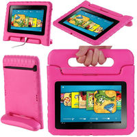 "For Amazon Kindle Fire 7 7"" 2015 Kids Safe Shock Proof Case Handle Stand"