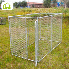 Factory Wholesale Cheap Chain Link Fence Weave Large Big Dog Kennel