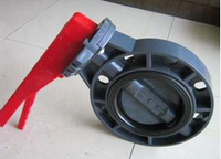 The new design wafer type butterfly valve and other valve dor sale