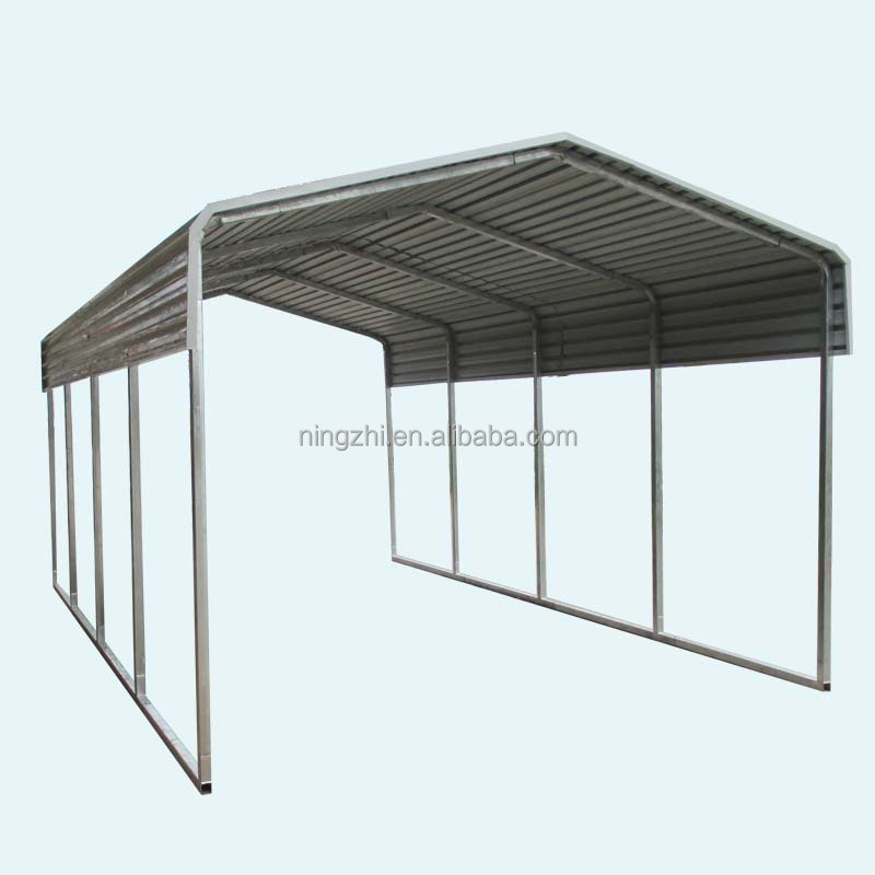 Bicycle Steel Metal Frame Carport - Buy Steel Structure Building ...