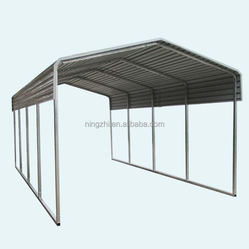 Bicycle Steel Metal Frame Carport - Buy Steel Structure Building ...