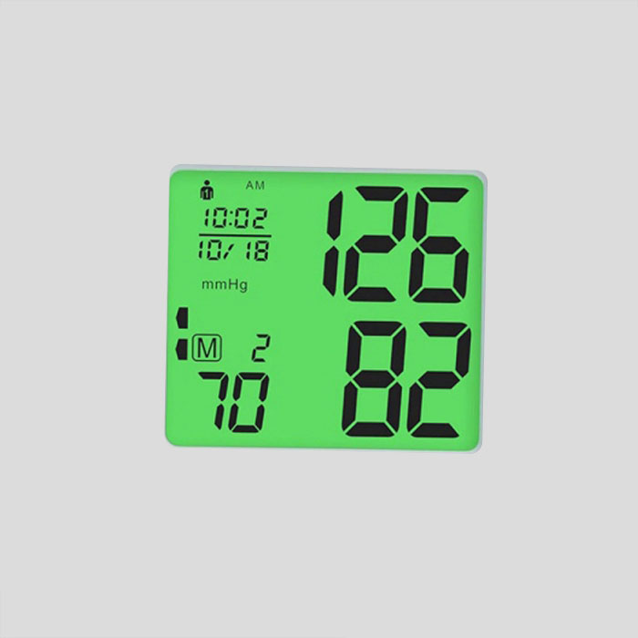 Factory Price Good Quality segment lcd panel for Blood pressure meter